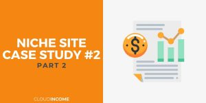 Niche site case study update july 15