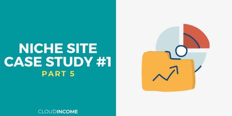 Niche site case study 1 oct 14