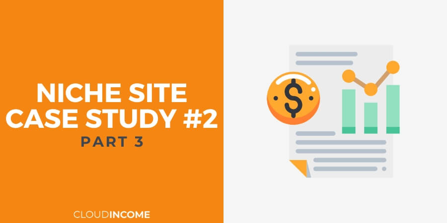 Niche site case study update aug 15