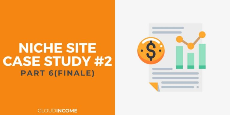 Niche site case study update q1 2016