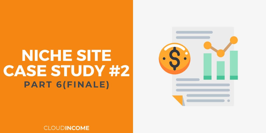 Niche site case study update q1 2016
