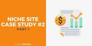 Niche site case study 2 introduction
