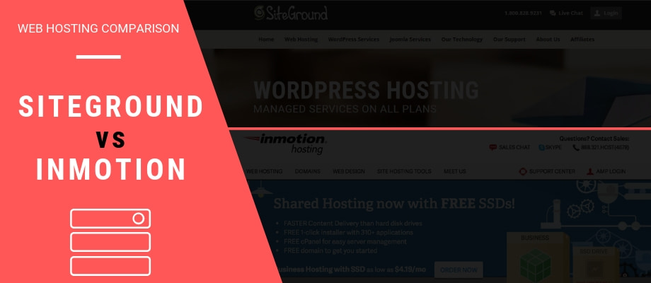 SiteGround vs InMotion (2019) - A Head-To-Head Hosting Comparison and Review