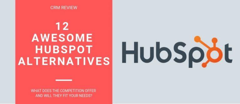 12 HubSpot Alternatives