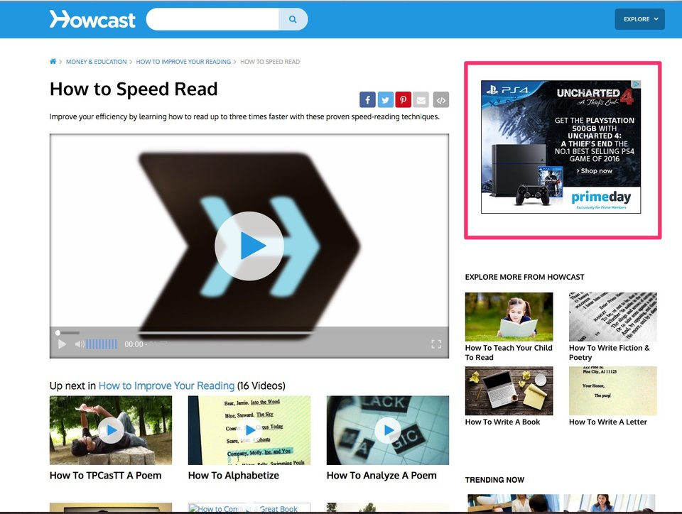 HowCast Adsense Block