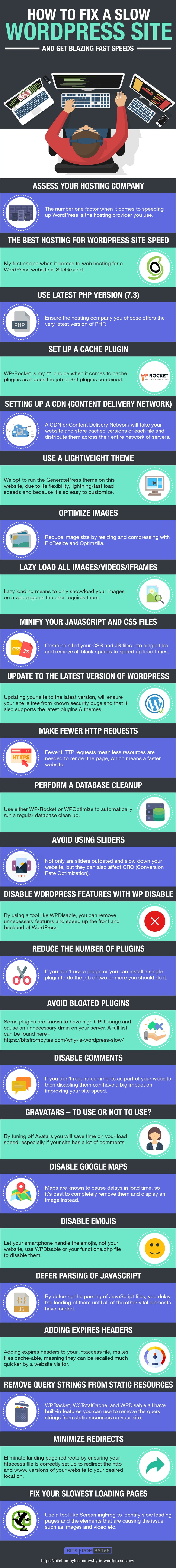 Website Speed Infographic