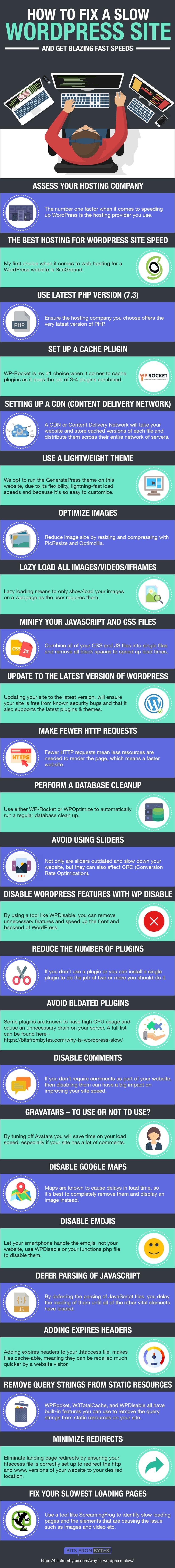 Website Speed Infographic