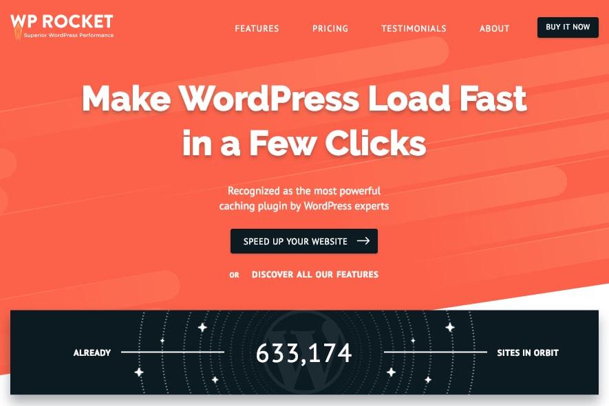 WP-Rocket Caching Plugin for WordPress