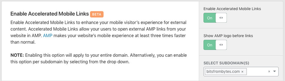cloudflare-speed-accelerated-mobile-links