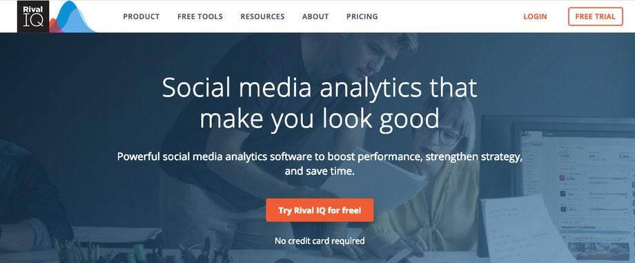 rivaliq competitive social media analytics