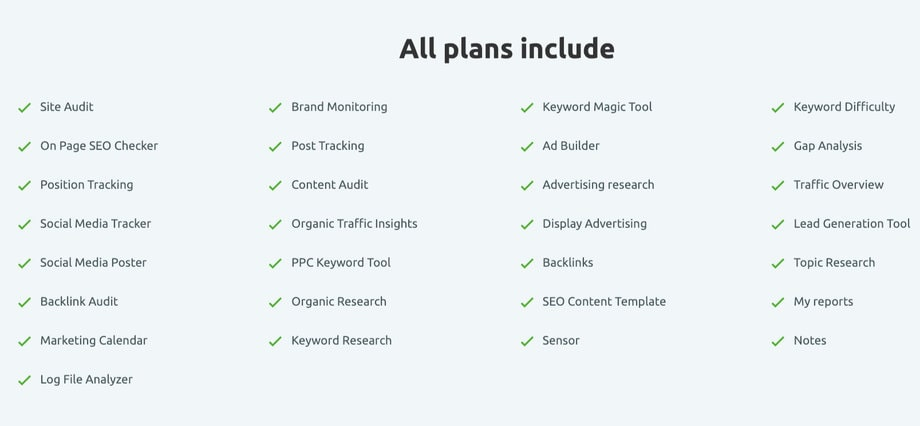 semrush-plan-features