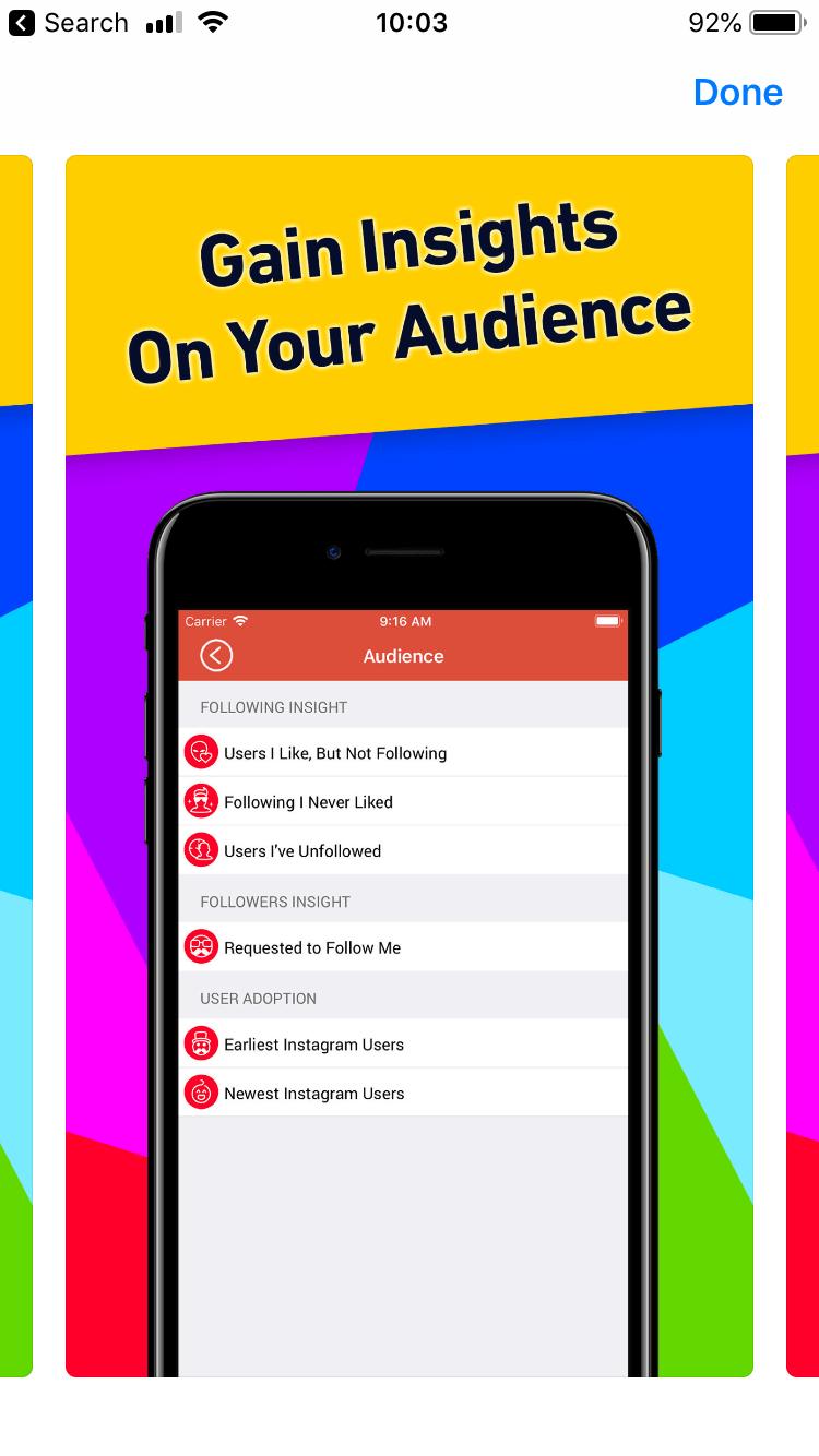 Followers Tracker Pro Audience