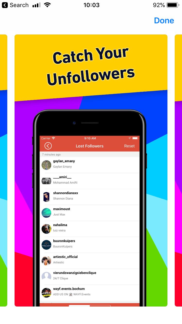 Followers Tracker Pro Unfollowers