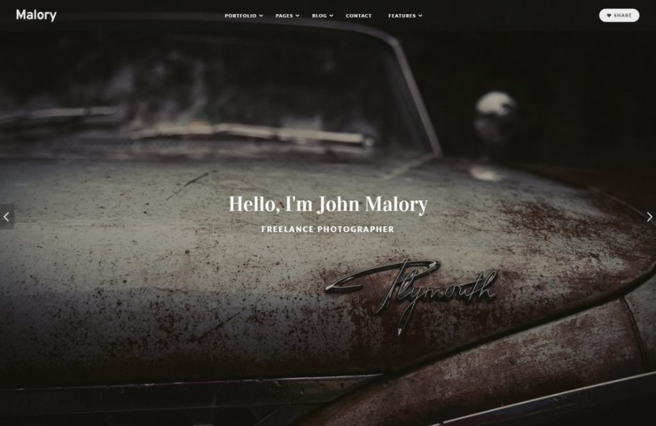 Malory WordPress Theme