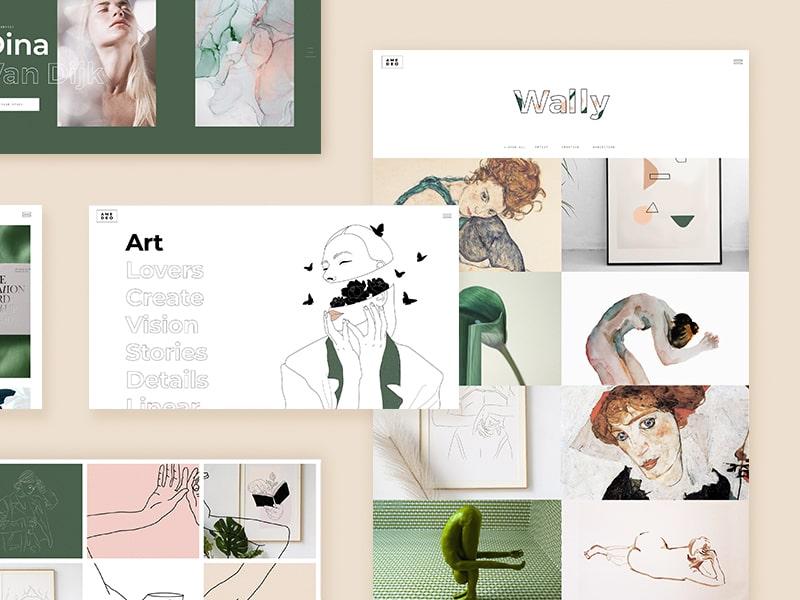 Amedeo Theme Designers Artists