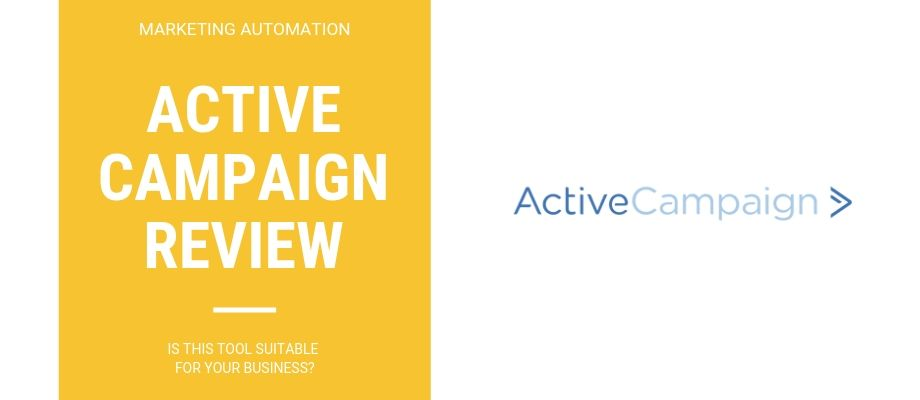 Active Campaign Email Marketing  Usability