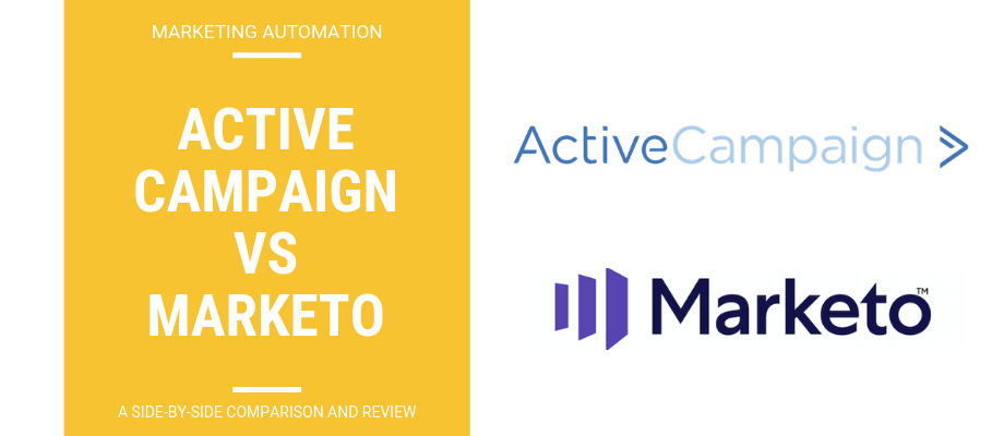 ActiveCampaign vs Marketo - A Side-By-Side Review & Comparison
