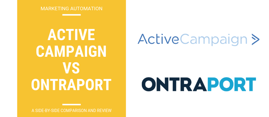 ActiveCampaign vs Ontraport - A Side-By-Side Review & Comparison