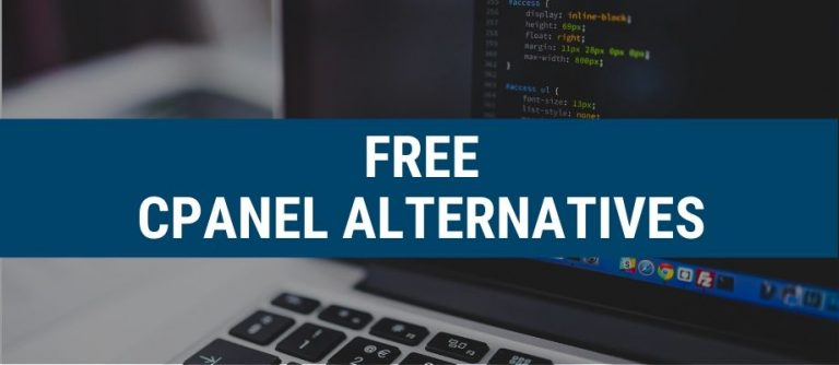 free cpanel alternatives