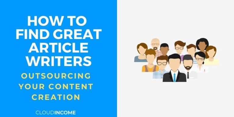 How To Find Great Article Writers