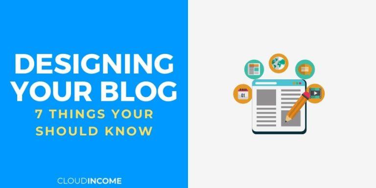 designing your blog