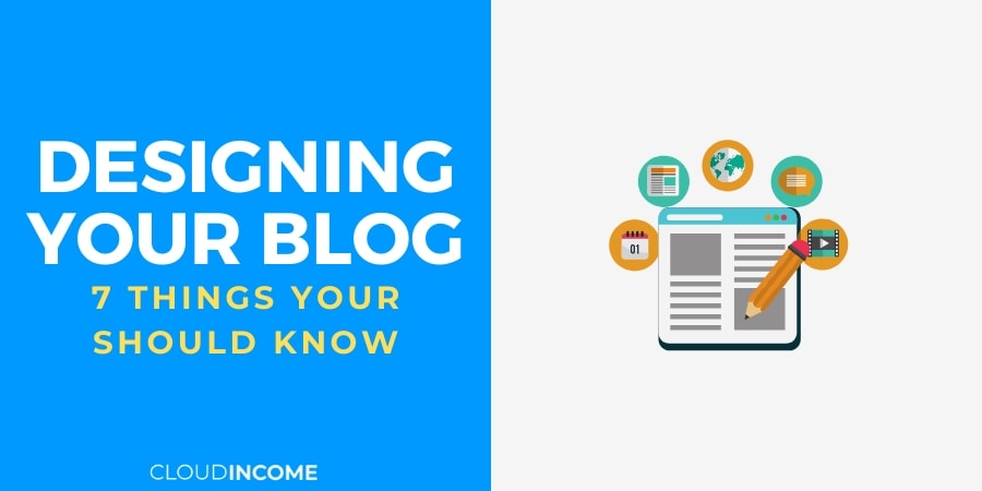 designing your blog