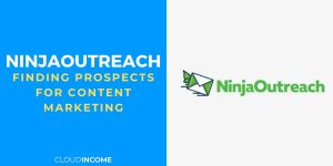 Finding prospects for your content marketing with ninjaoutreach