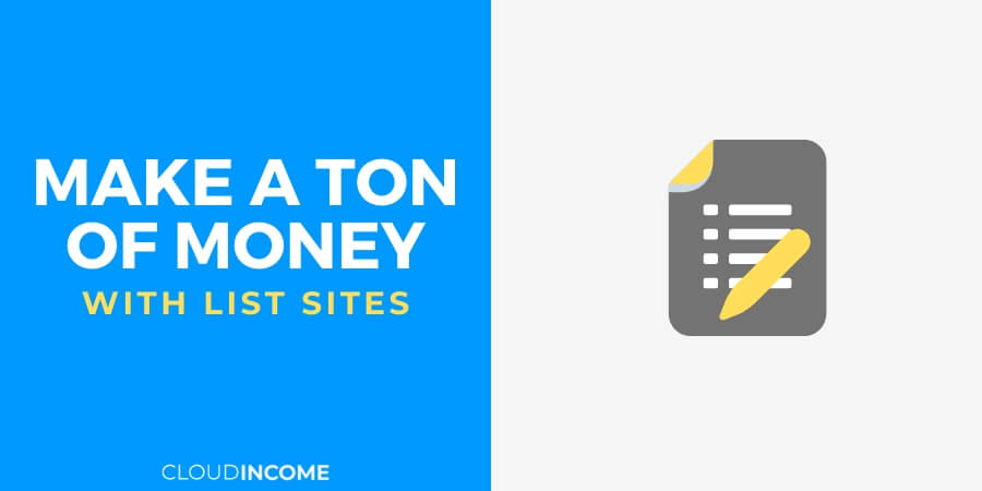 How list sites are making alot of money with simple content