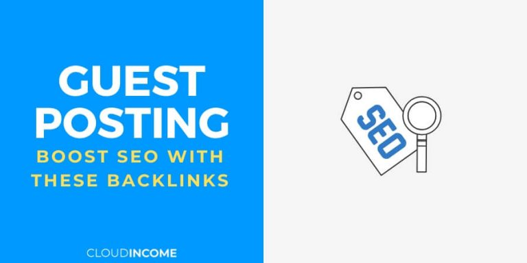 How to get backlinks with guest posting to help boost