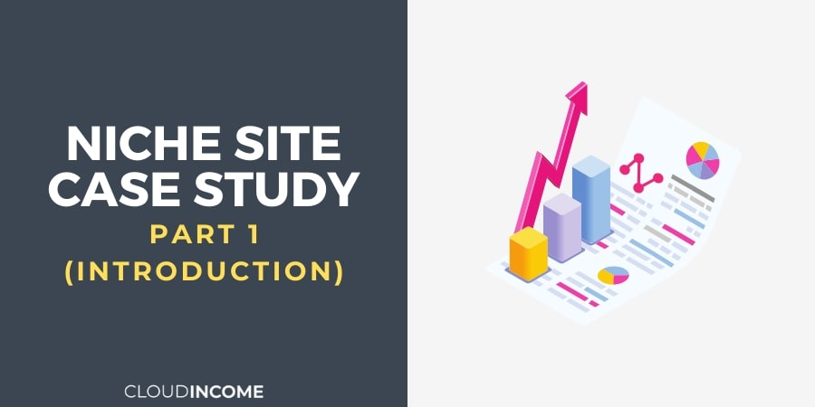 niche site case study intro part 1