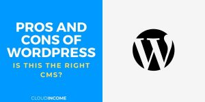 pros and cons of wordpress