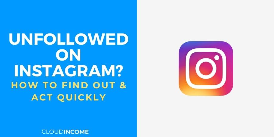 unfollowed on instagram?