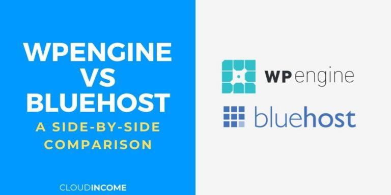 wpengine vs bluehost