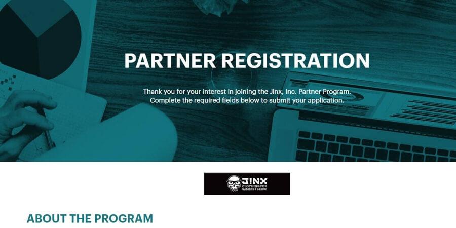 Jinx affiliate program