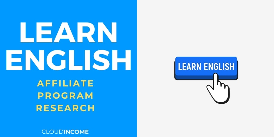 Learn English Online Affiliate Programs