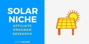 solar niche
