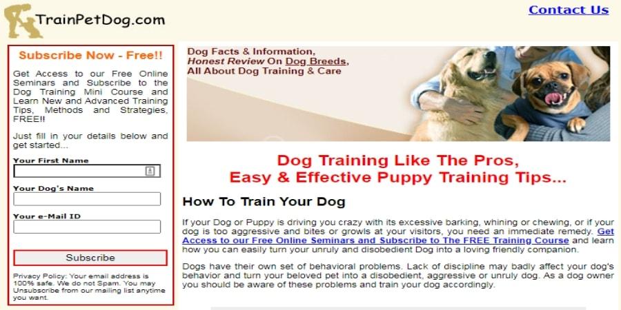 trainpet-dog-training