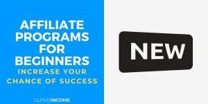 beginner affiliate programs