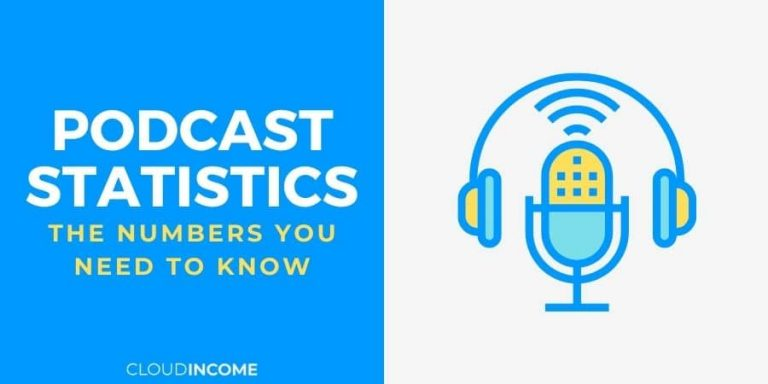 podcast statistics and facts