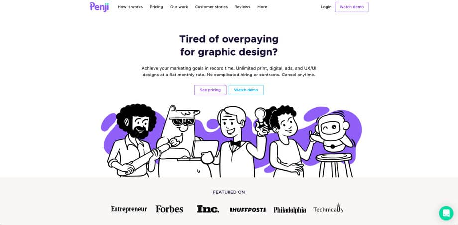 Building an on-demand graphic design service to a team of 150