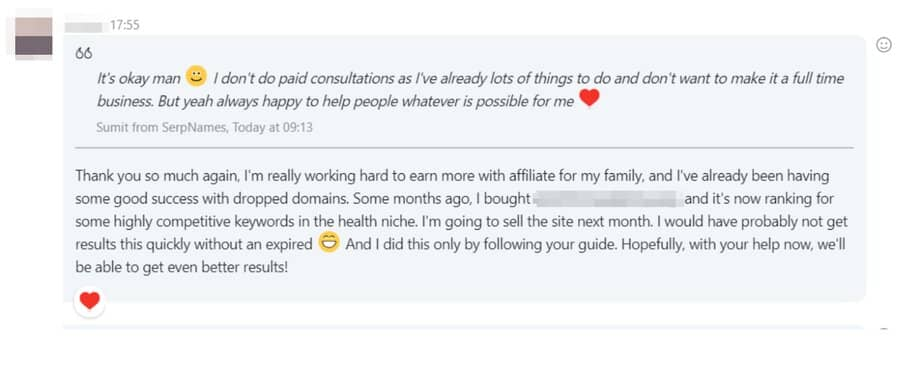 Sumit client chat