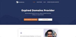 SerpNames Aged Domains